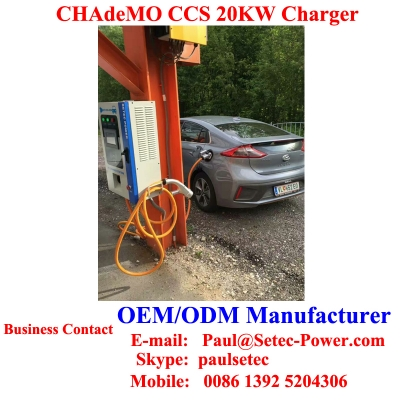 GOOD PRICE 20kw CCS Chademo Wall-mounted Charger